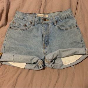 Levi Signature Jean shorts